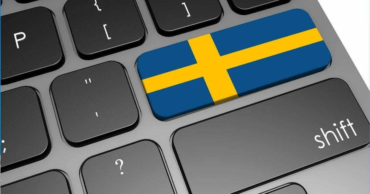 Svensk tangentbord